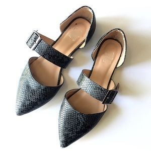 💥 JC | flats animal print point toes